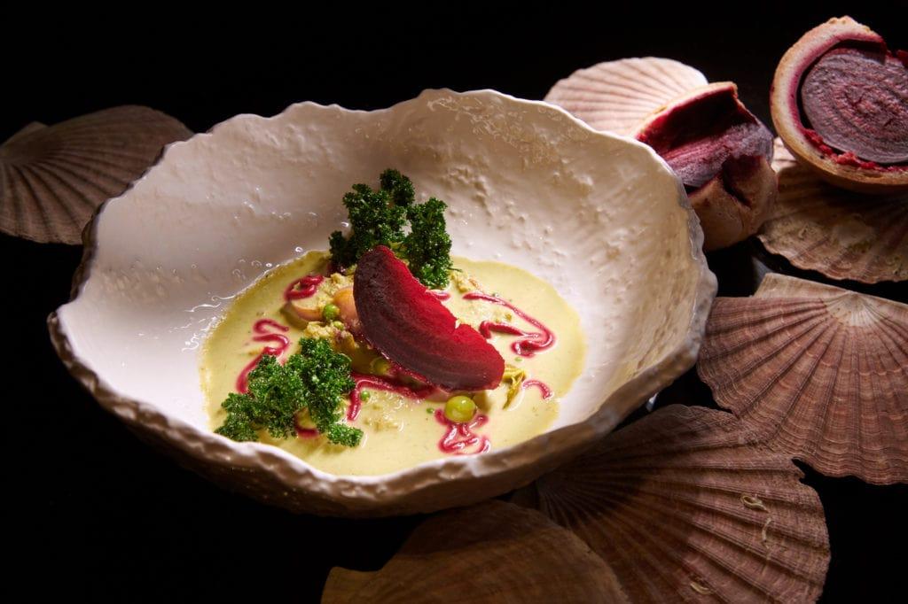 Sra Bua by Kiin Kiin, Michelin One Star, Gastronomy Food, Thai traditional food, food art