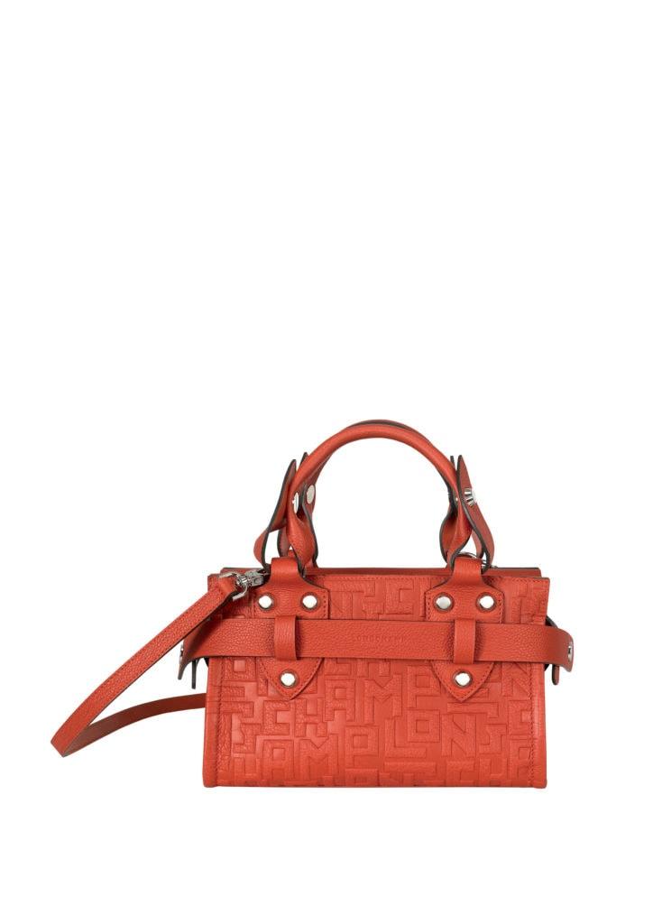 La Voyageuse LGP top handle bag burnt red SGD$1,500