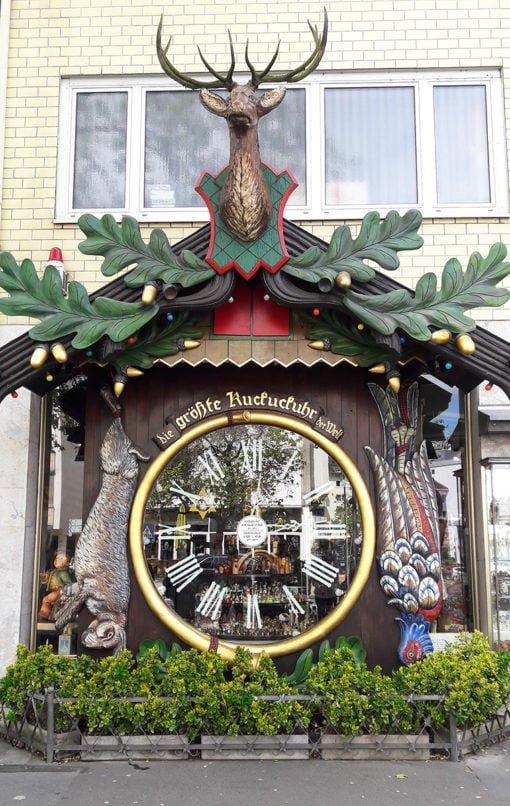 World's largest cuckoo clock in Wiesbaden