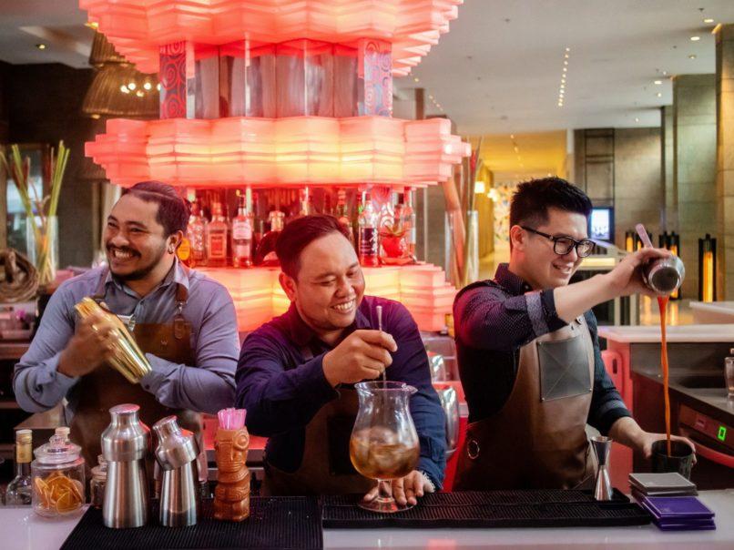 Marriott Bonvoy mixologists - W Bali