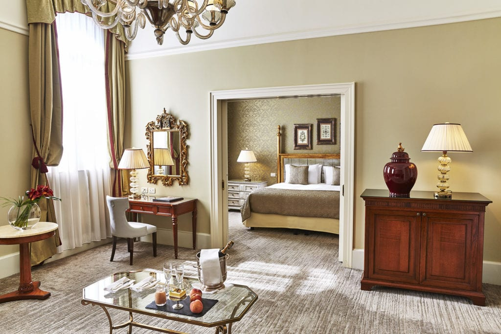 The Venice Suite Living Room