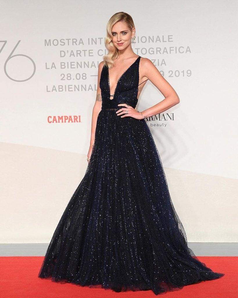 Chiara in Dior. Image: Courtesy Instagram