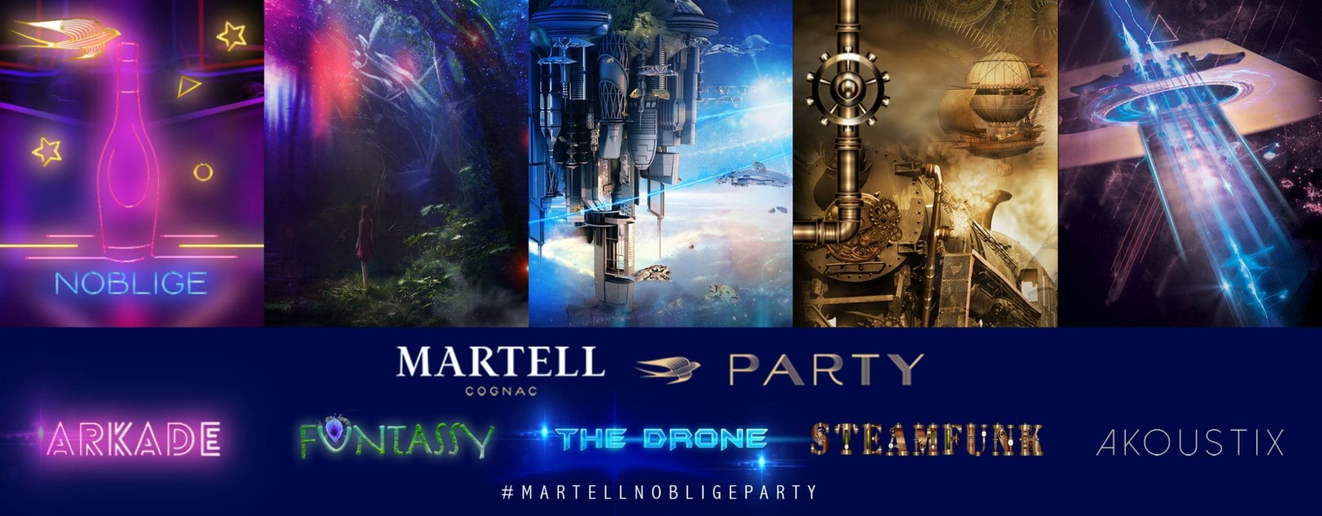 Martell Noblige Party