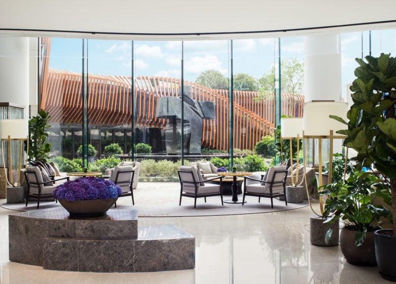 Kerry Hotel Lobby