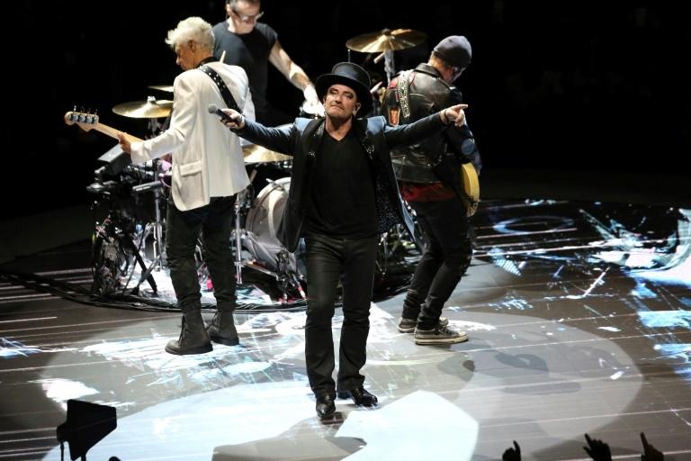 U2 concert India