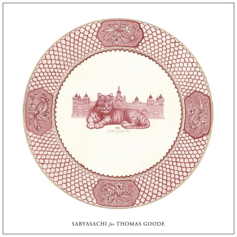 Tableware collection Sabyasachi x Thomas Goode