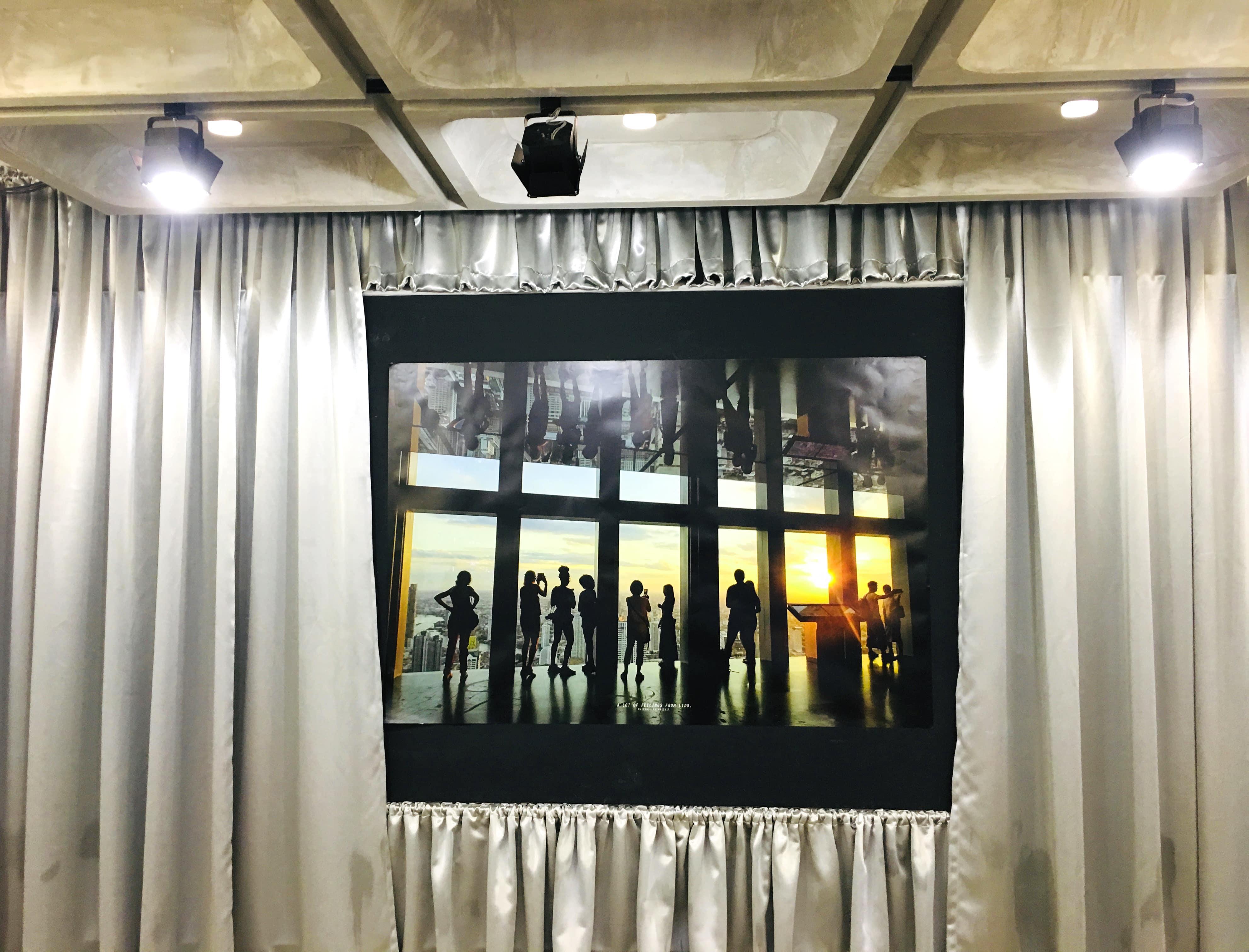 Lido Connect, Lido Theatre, Lido Cinema, Siam Square, Siam, revamped Lido Connect, Art gallery, Instagram worthy backdrop, Instgrammable, artsy backdrop, Lido backdrop