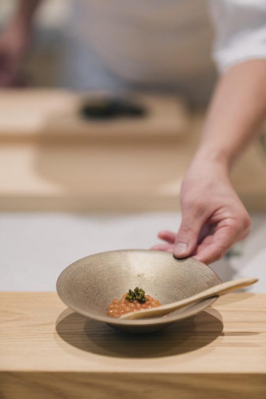 Sushi Zo - salmon roe