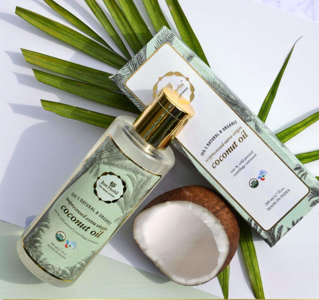 Just Herbs Unprocessed Extra Virgin Coconut Oil