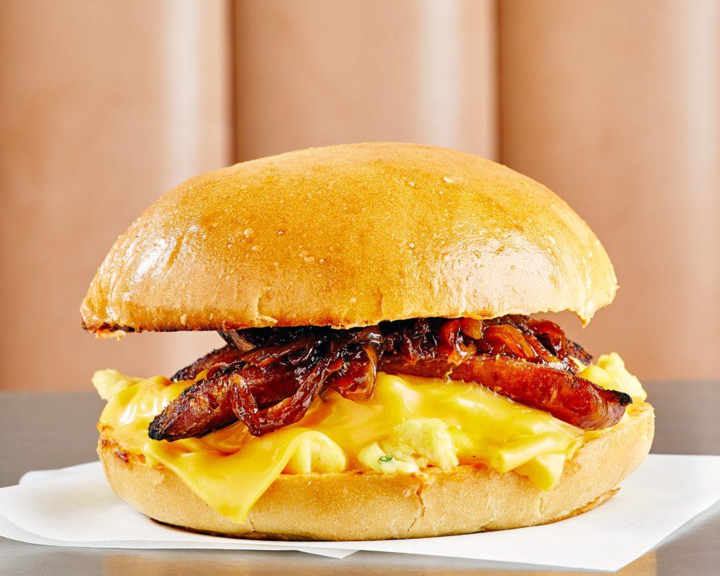 Blend American breakfast