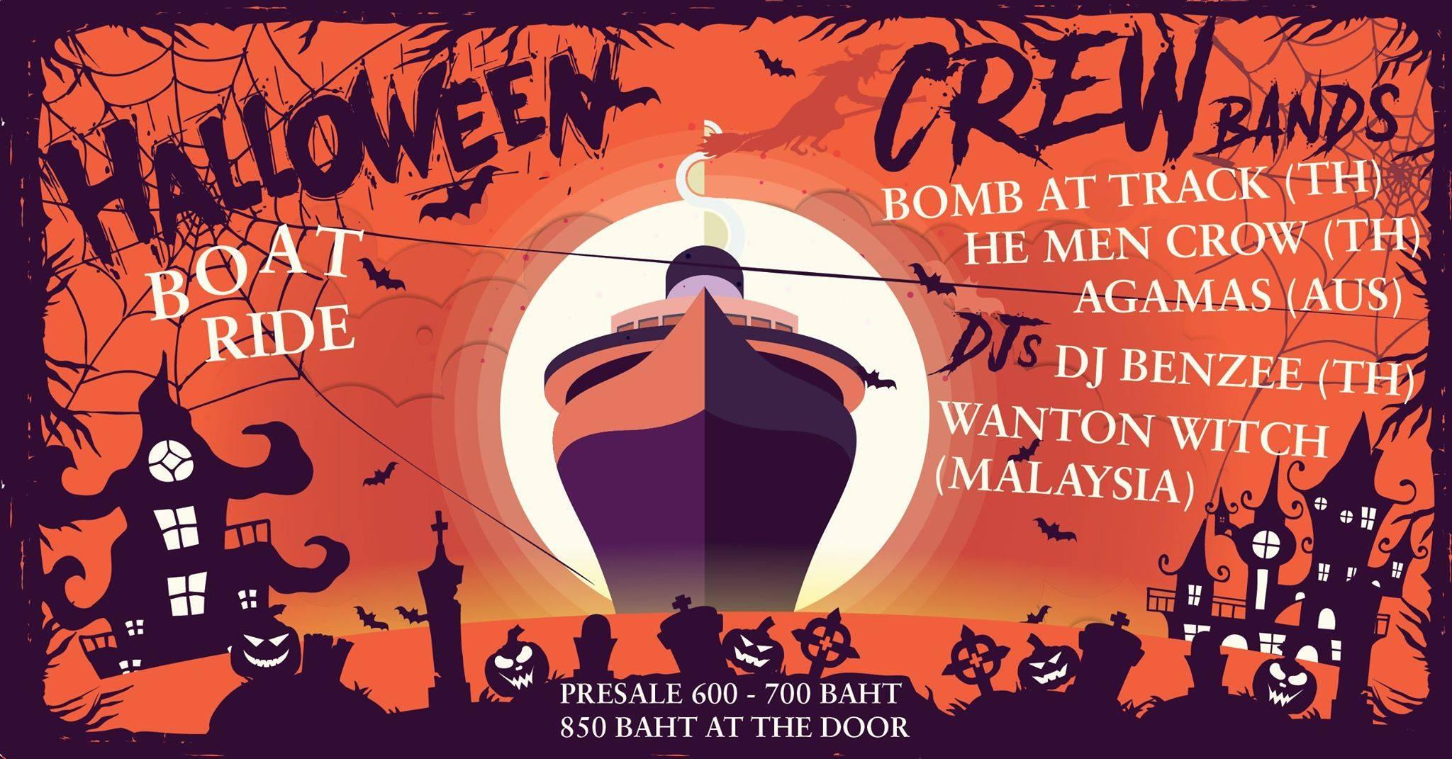 Halloween, Best halloween, Bangkok, celebrate halloween in bangkok, best halloween parties bangkok, what to do october, october halloween, Bangkok Island
