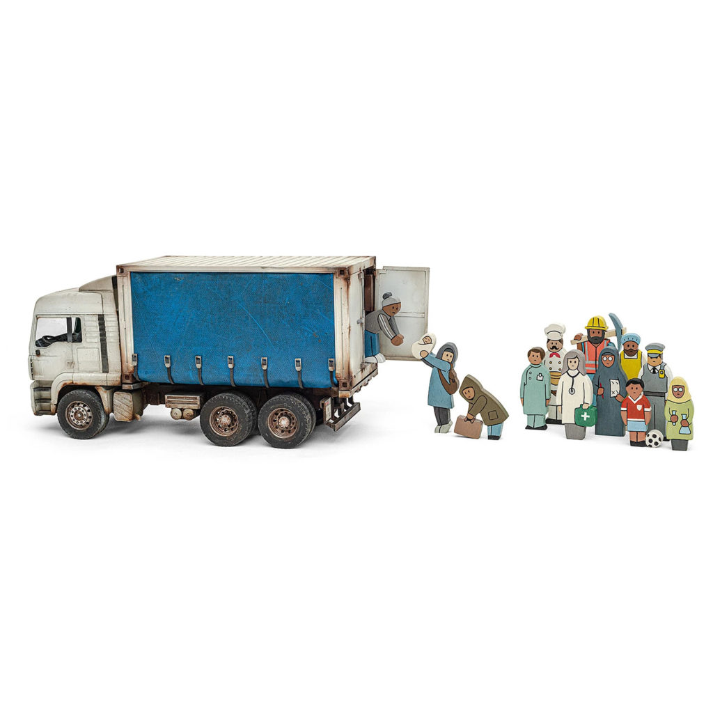 Banksy™ Early Learning Counting Set / 5 available now at £750.00 - Photo courtesy of GDP
