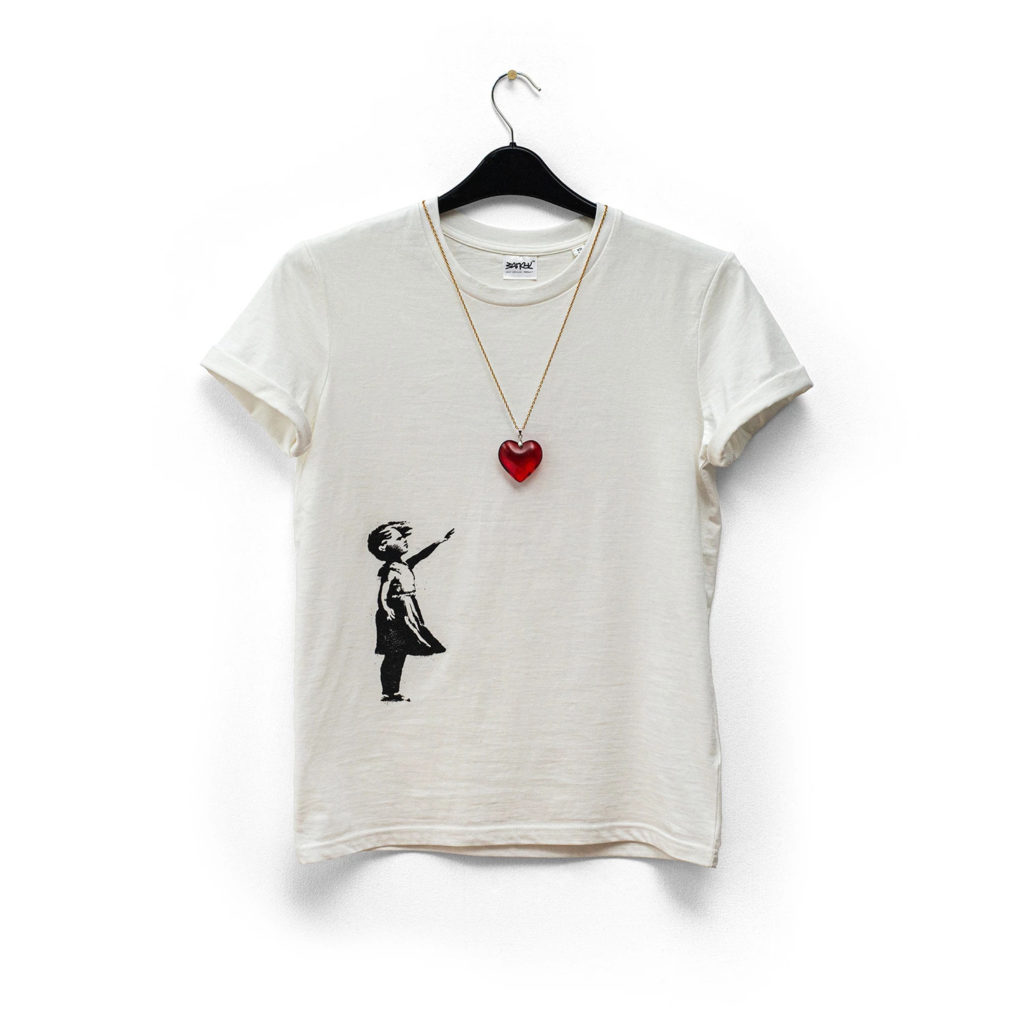 Banksy™ Balloon Tee - Unlimited Edition £35.00 - Photo courtesy of GDP