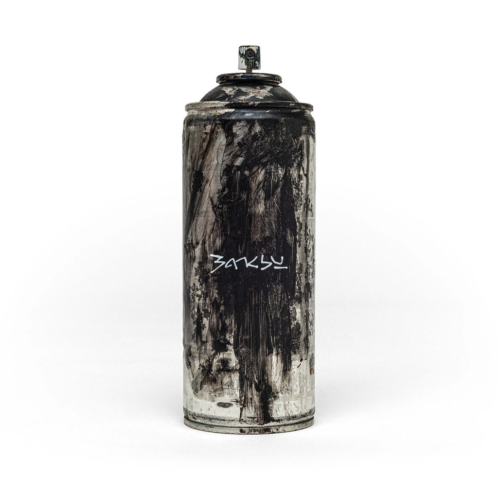 Banksy™ Black / Unlmited edition £10.00 - Photo courtesy of GDP