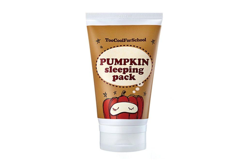 pumpkin skincare - too cool for school