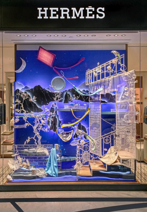 window display sumakshi singh hermes