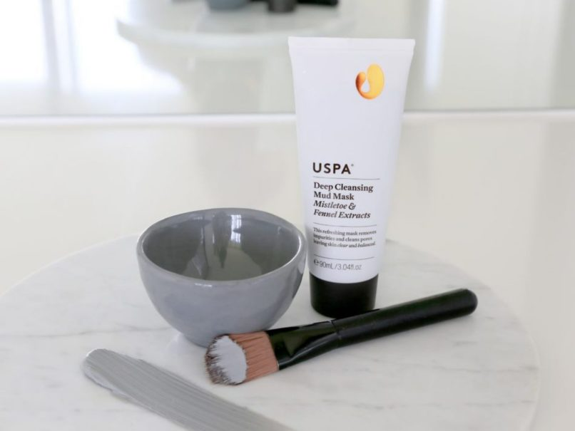 Uspa - clean beauty mud mask