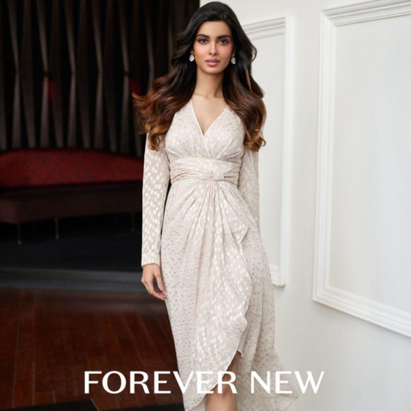 Diana Penty for Forever New. Image: Courtesy Forever New