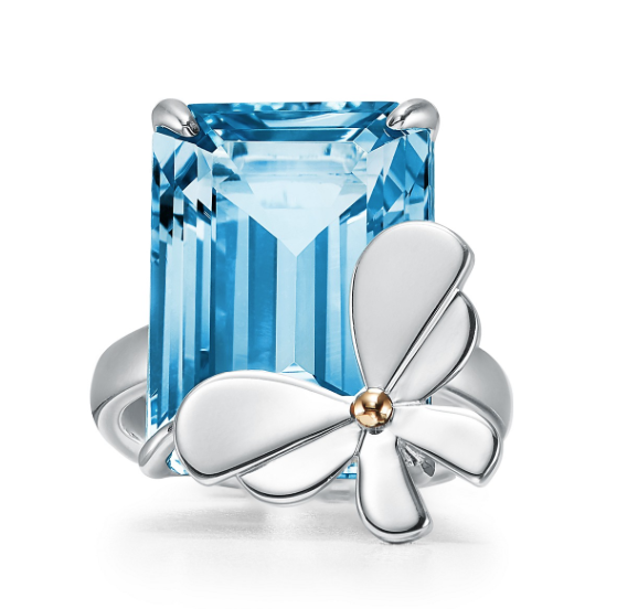 Topaz, November Birthstone, blue topaz, fine jewellery, topaz mounted jewellery, november, birthstone, Tiffany, Tiffany & Co.