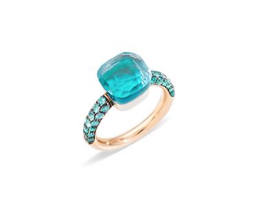 Topaz, November Birthstone, blue topaz, fine jewellery, topaz mounted jewellery, november, birthstone, Pomellato, topaz from Pomellato