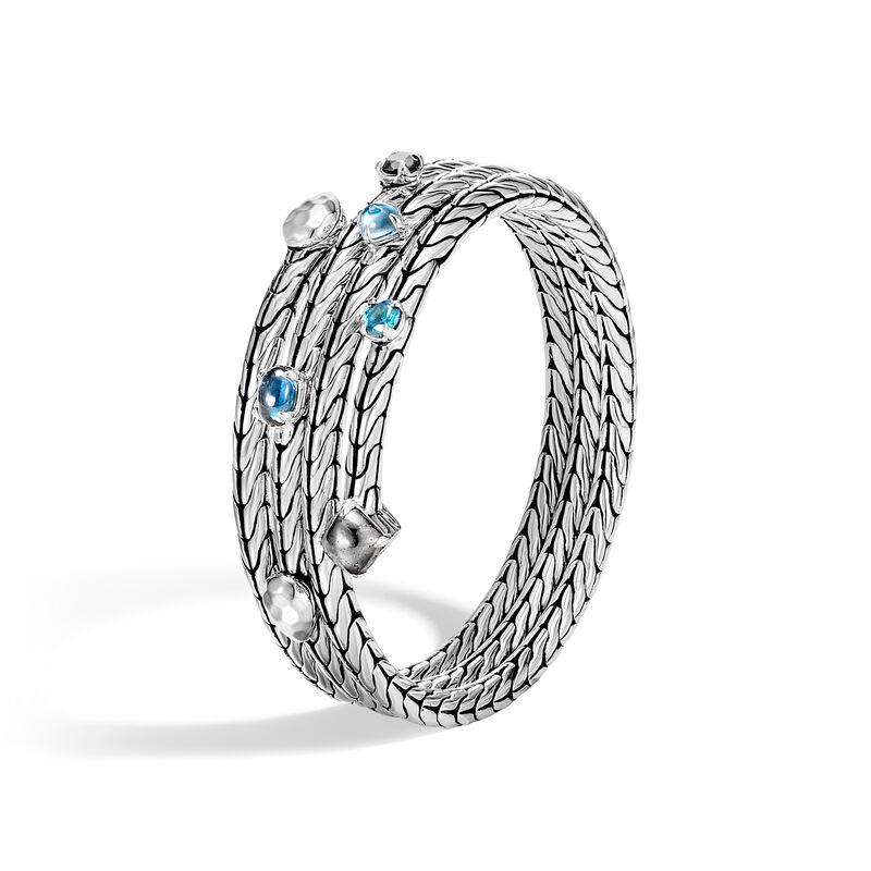 Topaz, November Birthstone, blue topaz, fine jewellery, topaz mounted jewellery, november, birthstone, John Hardy, John Hardy jewellery,