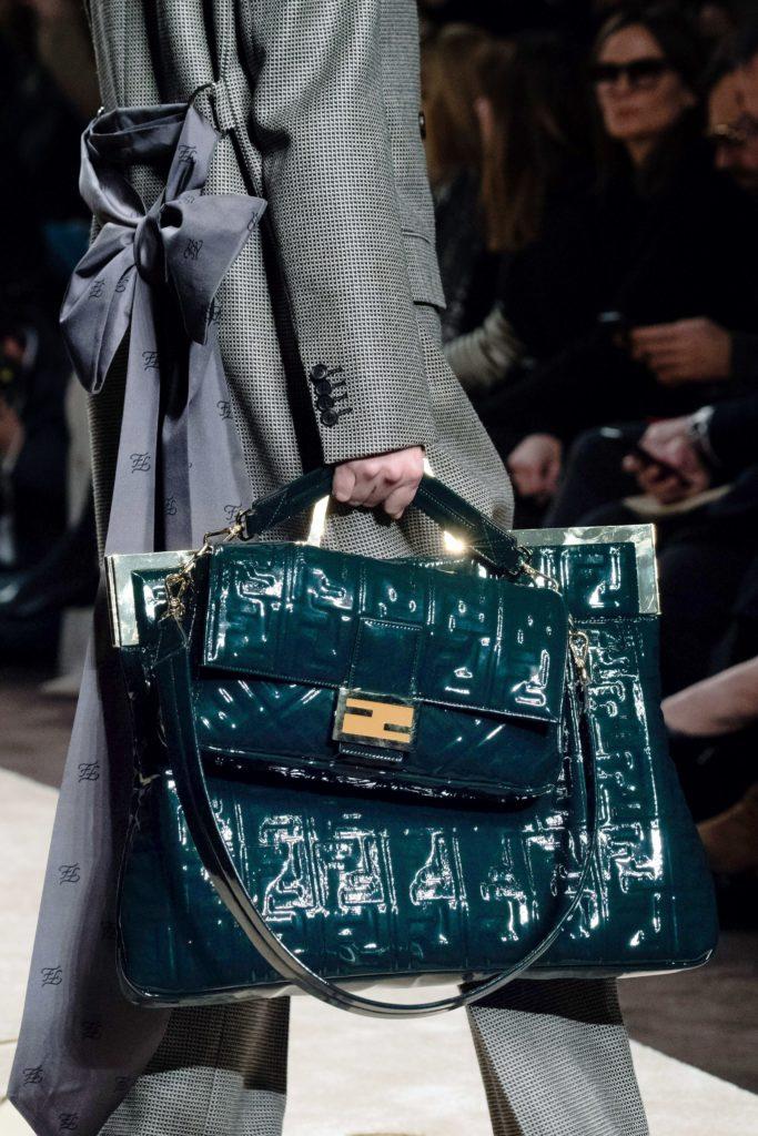 Fendi fw19 double bag