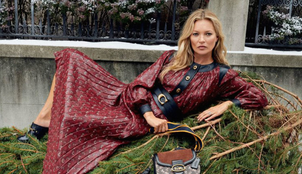 Kate Moss Coach Holiday Campaign