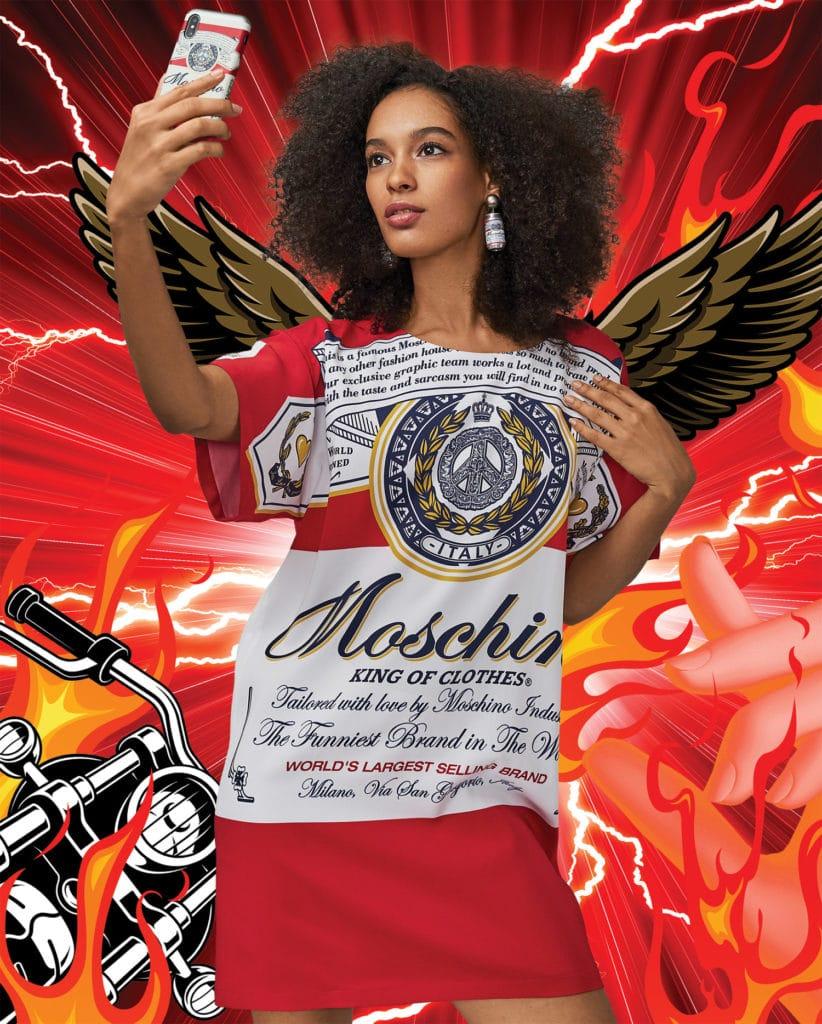 百威啤酒于时尚界火力全开!最新联名对象:Moschino