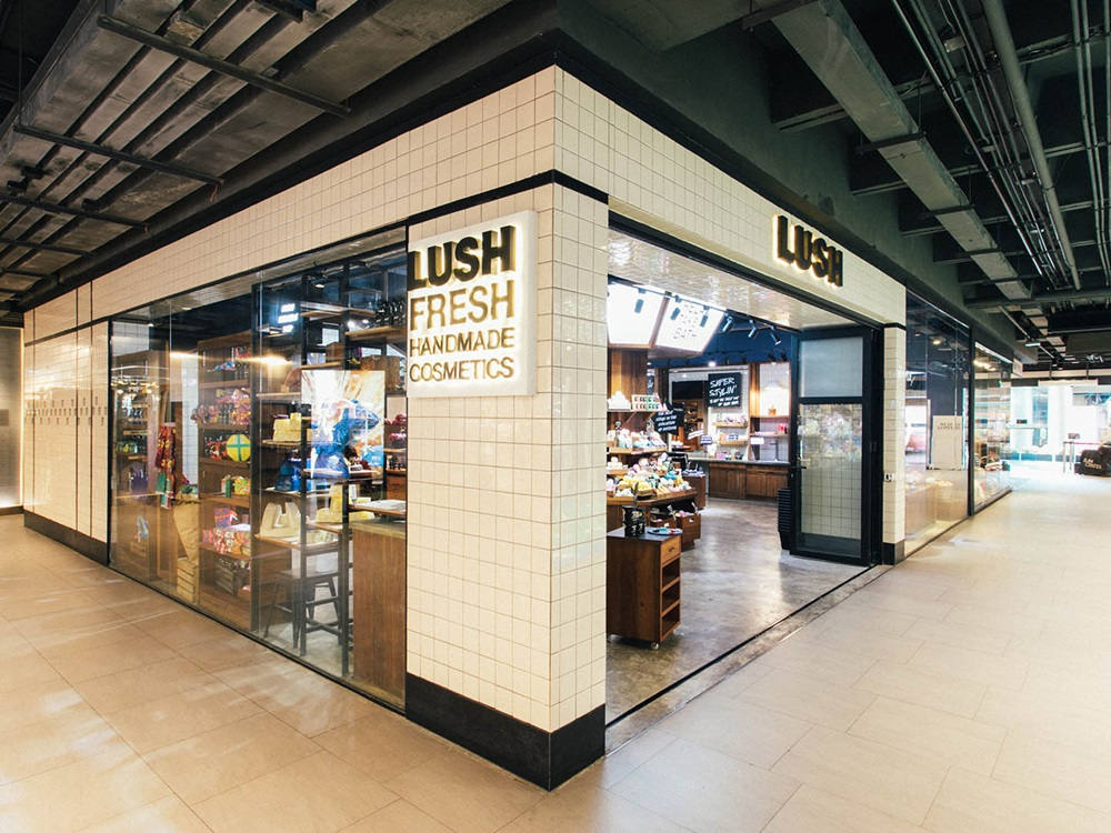 Lush Thailand, Lush Bangkok, Lush Bangkok Siam Center, OneSiam, Siam Paragon, Siam Centre, Siam Discovery, where to shop, experiences, where to eat, thai designers, international designers at siam, siam, shopping in bangkok, best shopping malls, thai design brands,