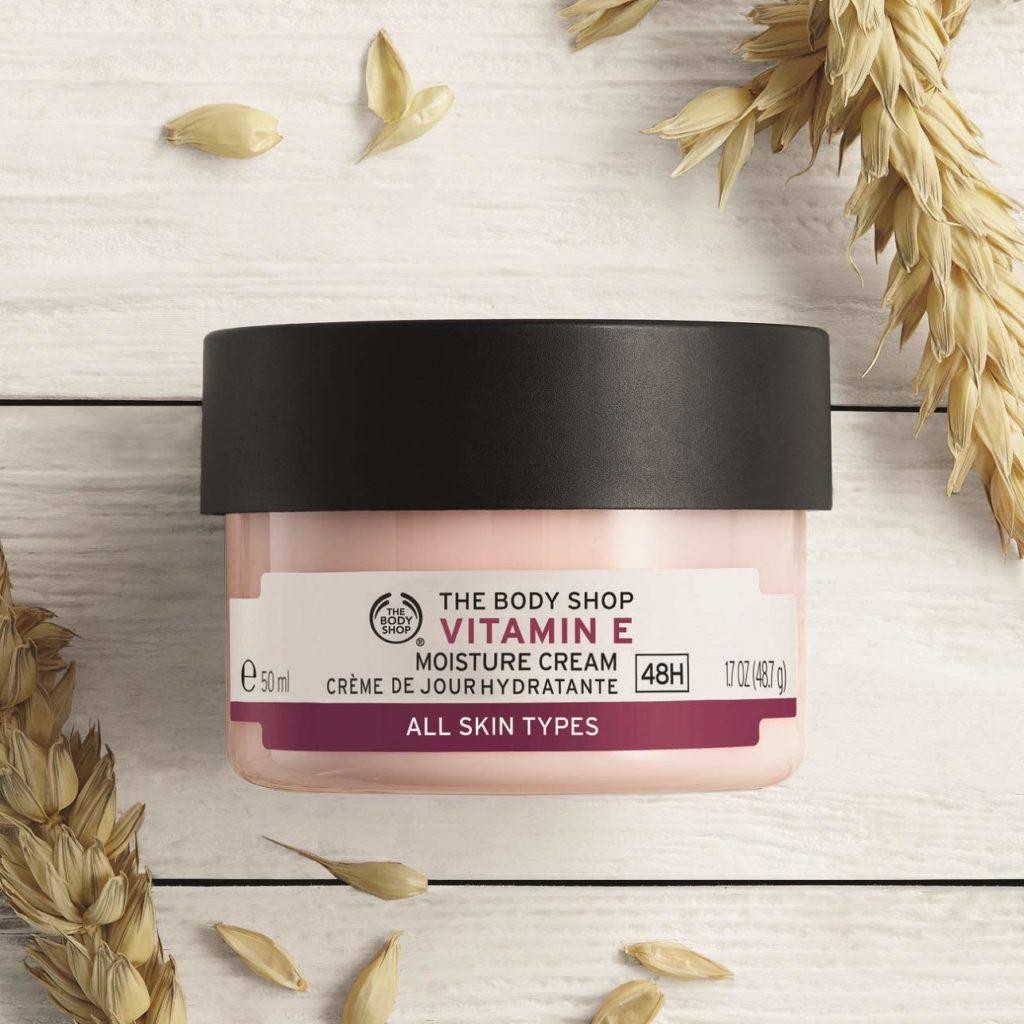 Try the Body Shop Vitamin E Moisture Cream