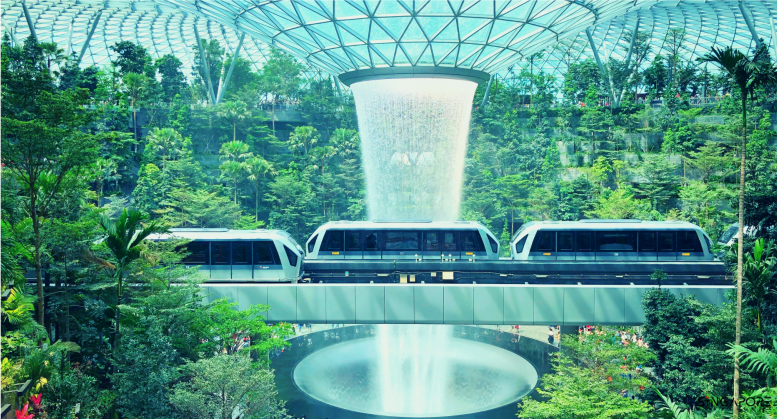 travel, travel bucket list, travel bucketlist, where to travel, travel 2020, holiday destinations, adventure, travel grams, travel guide, travel bucket list 2020, must-see places, must-see destinations, Singapore, Singapore Changi Airport, Singapore airport waterfall