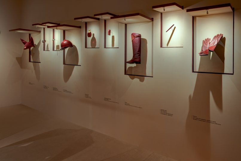 Rouges Hermès exhibition at The Chanakya, New Delhi
