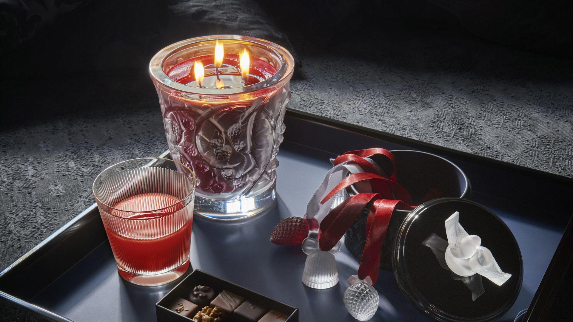 Festive candles - Lalique