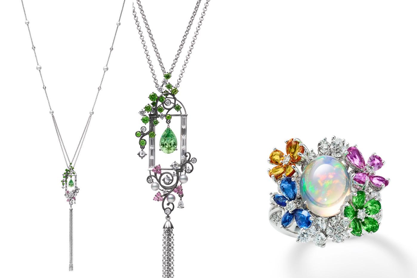 Mikimoto Jardin Mysterieux high jewellery