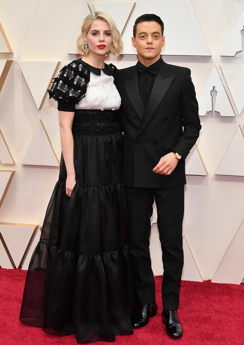 Oscars 2020 - Rami Malek and Lucy Boynton