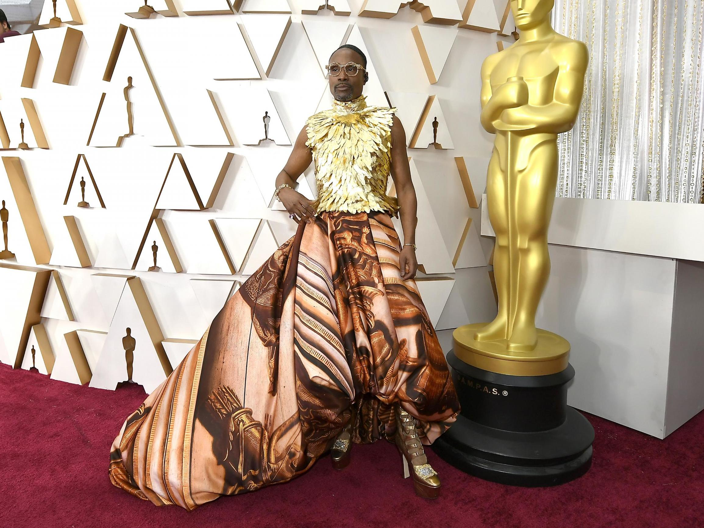 Billy Porter in Giles Deacon (Photo credit: Getty Images)