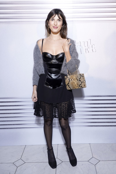 Jeanne Damas at Jean-Paul Gaultier SS20 Haute Couture show (Photo credit: Getty Images)