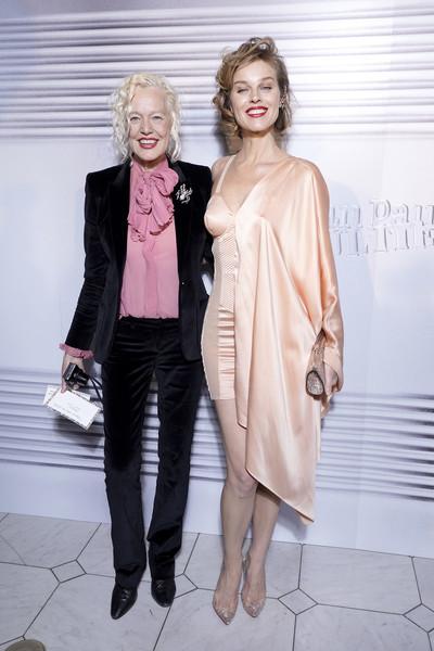 Ellen von Unwerth and Eva Herzigova at Jean-Paul Gaultier SS20 Haute Couture show (Photo credit: Getty Images)