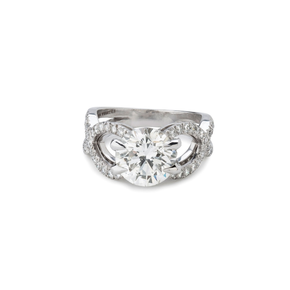 Forget me knot diamond engagement ring, Stephen Webster (Photo credit: Stephen Webster)
