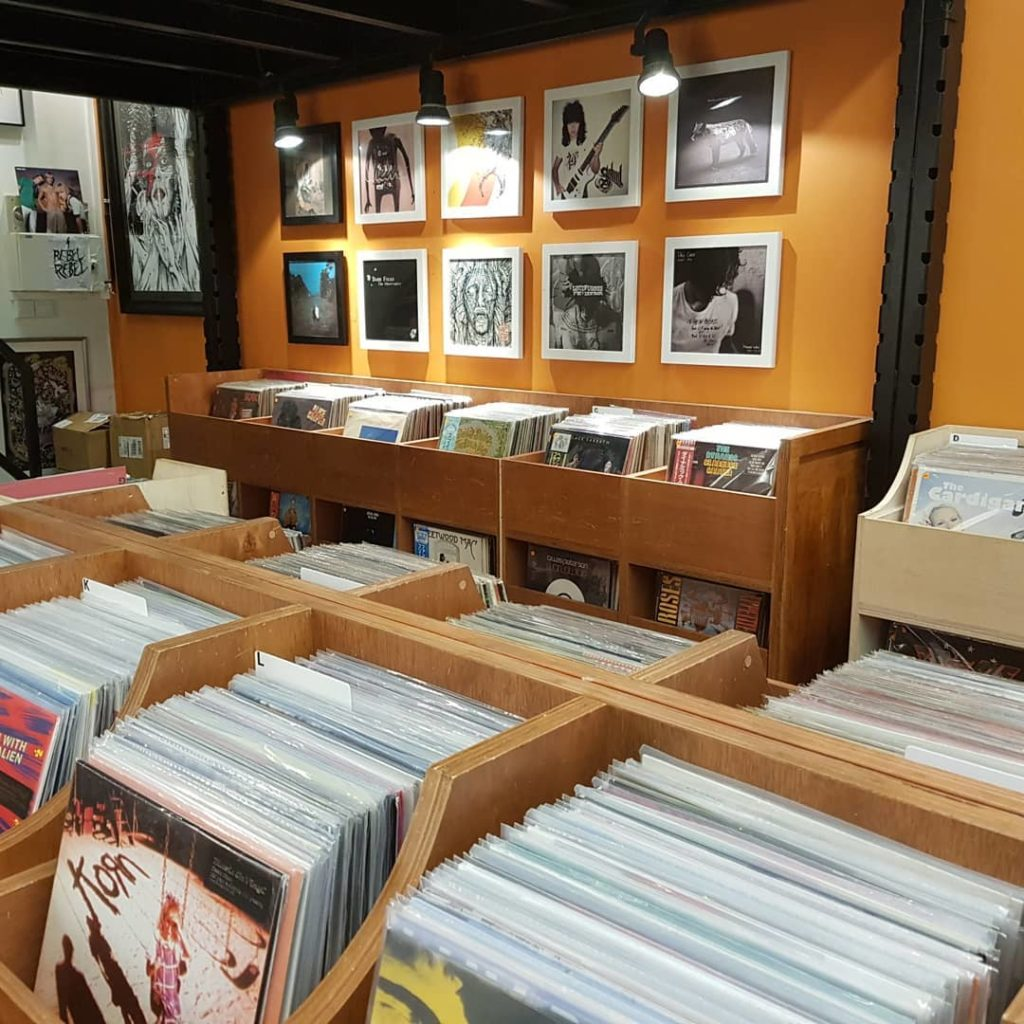 vinyl and record players in Singapore