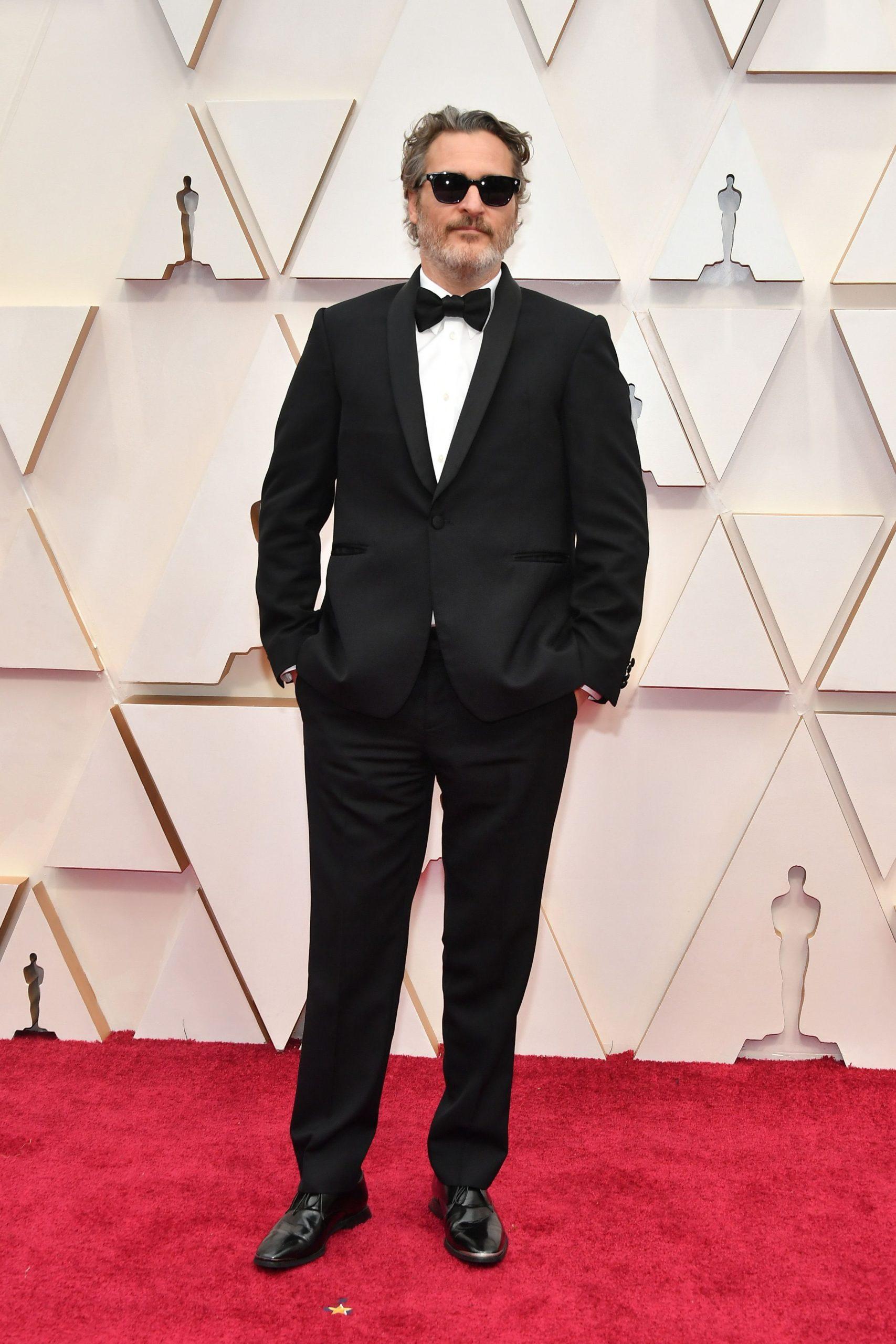 Joaquin Phoenix in Stella McCartney (Photo credit: Getty Images)