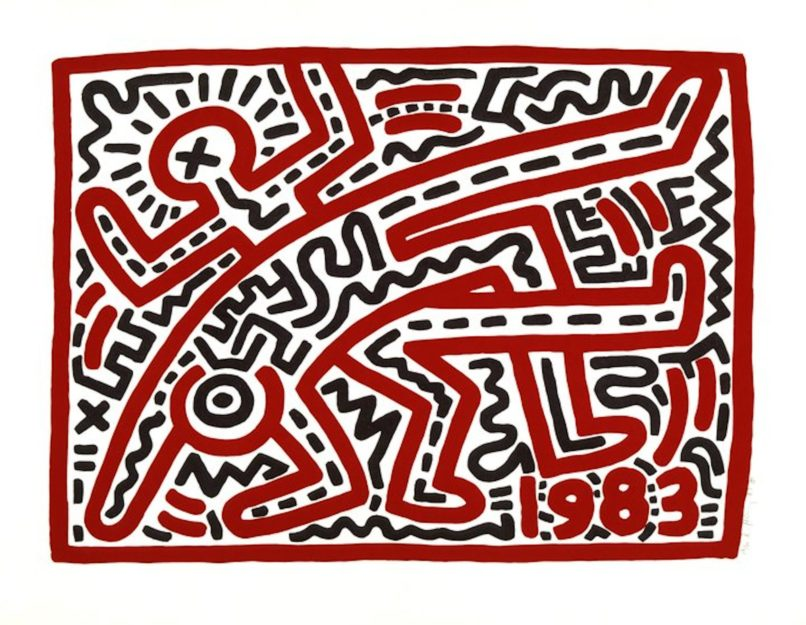 Keith Haring 1983 untitled