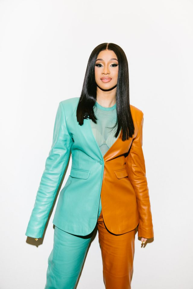 Cardi B in Sally LaPointe. Image: Courtesy Instagram