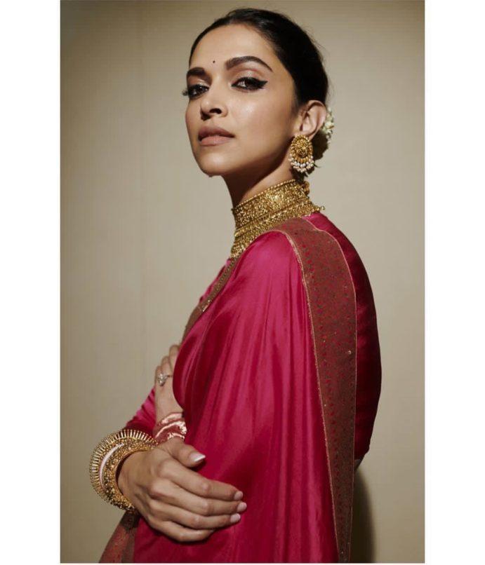 Deepika Padukone has some of the best sari looks, and we ...